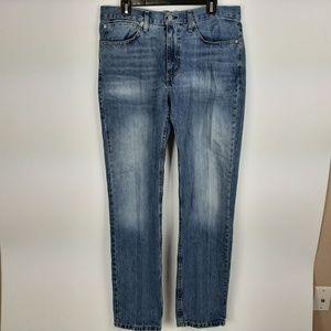 Levi's 514 Men's Jeans Size 34/34 Blue Denim SG8